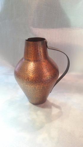 jarra de cobre martillado importada de alemania - hechoamano
