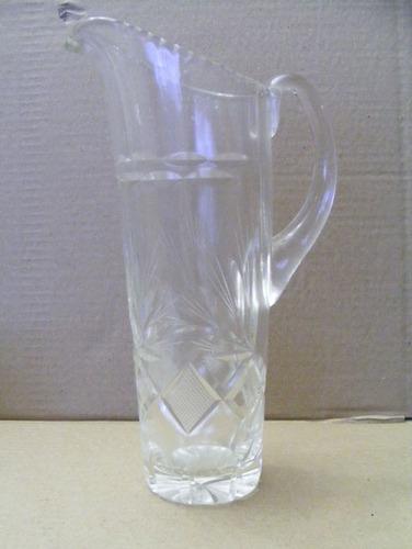 jarra de cristal