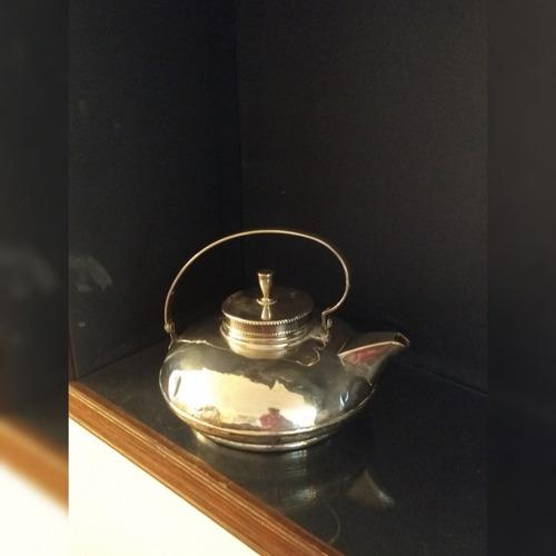jarra de decoración c/baño de plata