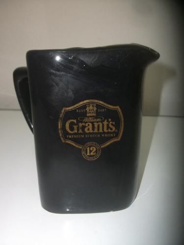 jarra de loza whisky grants wiskera coleccionable