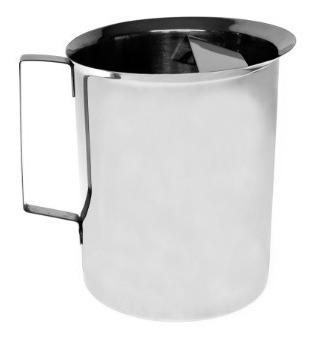 jarra de mesa de acero inoxidable con reten de 2.5 litros