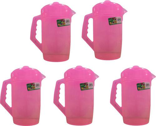 jarra de plástico para agua 2 lts 10 piezas incluye envío