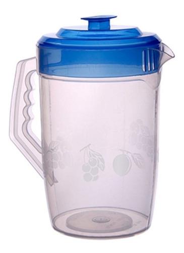 jarra de plástico para agua 4 lts 5 piezas