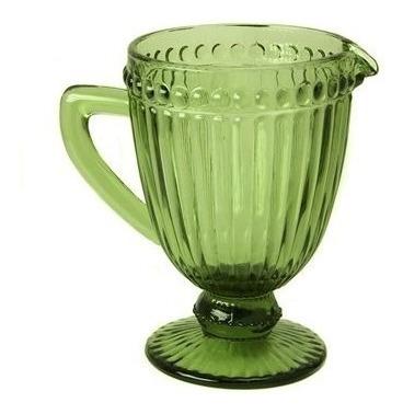 jarra de vidrio labrado 1l