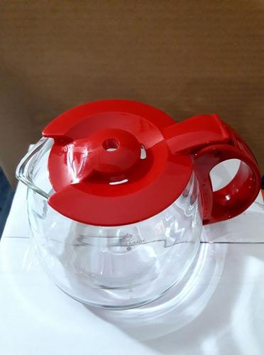 jarra de vidro cafeteira britânia cp15 inox vermelha