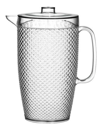 jarra diamante crystal 3 litros  suco água