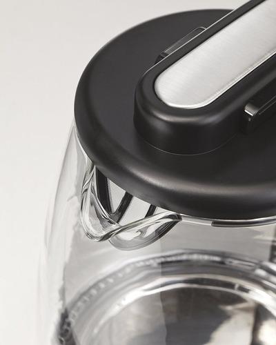 jarra eléctrica hervidor de agua hamilton beach vidrio