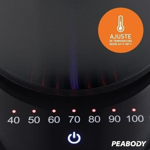 jarra eléctrica termo corte mate 1.5 lt peabody pe-dvk15
