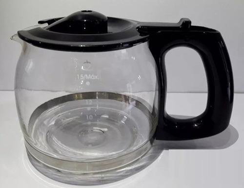 jarra em vidro para cafeteira ph16 preta philco original