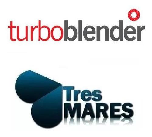 jarra licuadora pro turboblender tb-79 3,6 litros + cuchilla