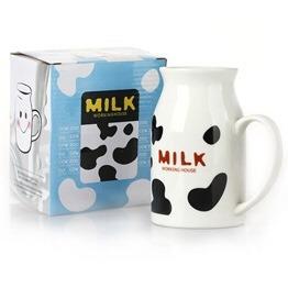 jarra para leche personalizada cerámica, 450ml, restaurantes
