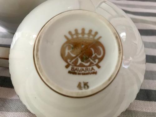 jarra para servir te o cafe, azucarera y lechera porcelana