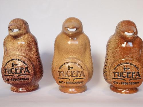 jarra pinguino para vino a pedido con logo personalizado