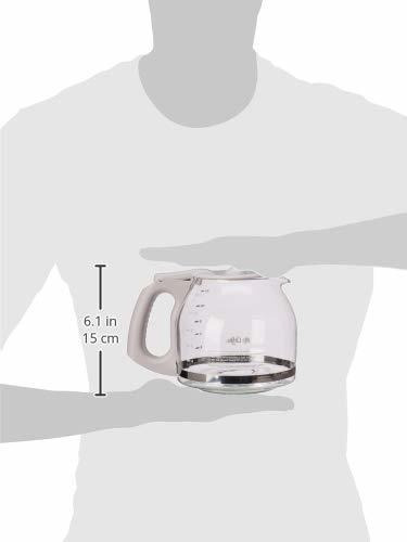 jarra repuesto mr. coffee capacidad para 12 taza