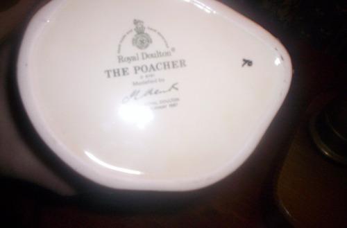 jarra royal doulton the poacher large edicion limitada