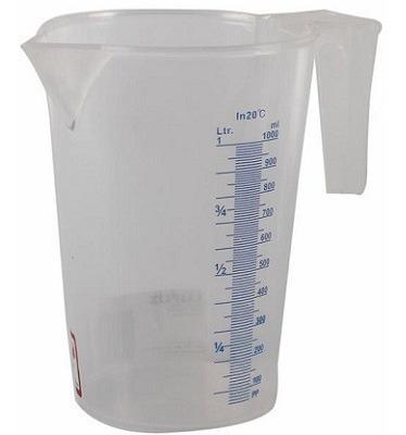 jarra transparente 1000 ml lupus