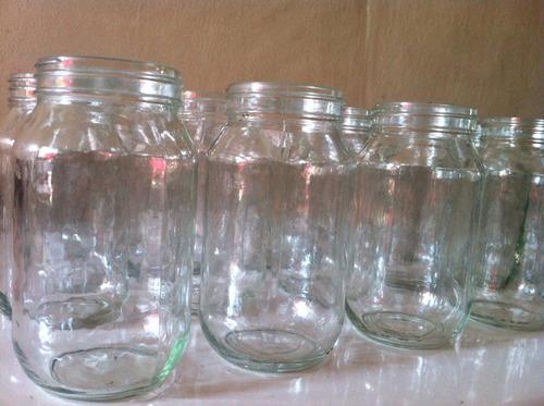 jarra vaso frasco botella vidrio 500cc (1/2 litro) nuevos