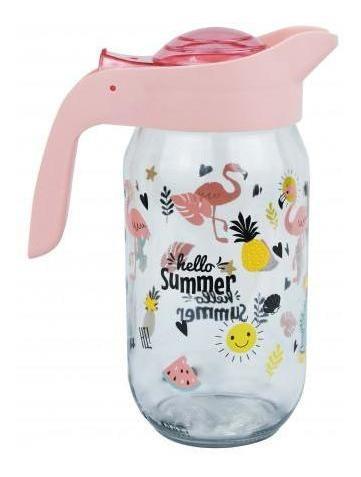 jarra vidrio herevin 1lt hello summer