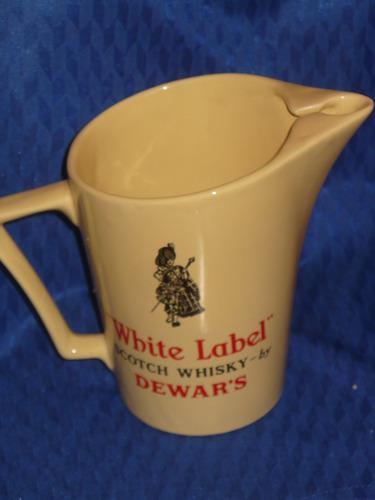 jarra whisky white label inglesa 3/4