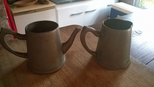 jarras de platina inglesas originales las 2