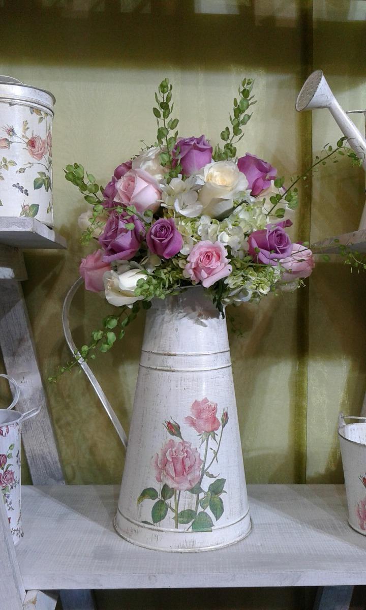 Jarras floreros centros de mesa regaderas vintage - Comprar decoracion vintage ...