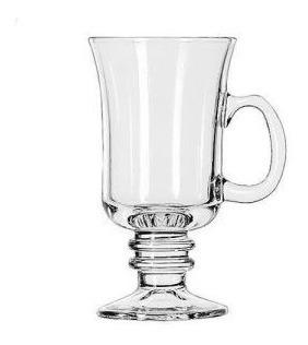 jarro cafe con asa capuchino vidrio transparente vaso 4709