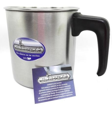 jarro de acero gamuza platino / master ware n°14 2 litros