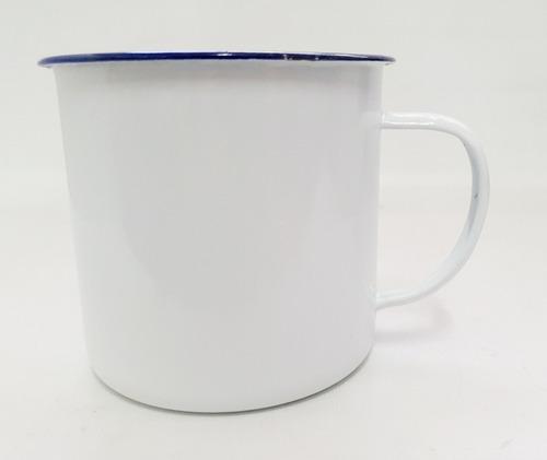 jarro enlozado mug 12cm diámetro 12cm de alto colores