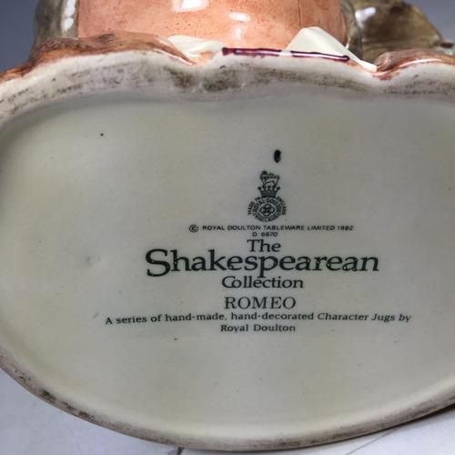 jarro royal doulton edición limitada the shakespearean 1982
