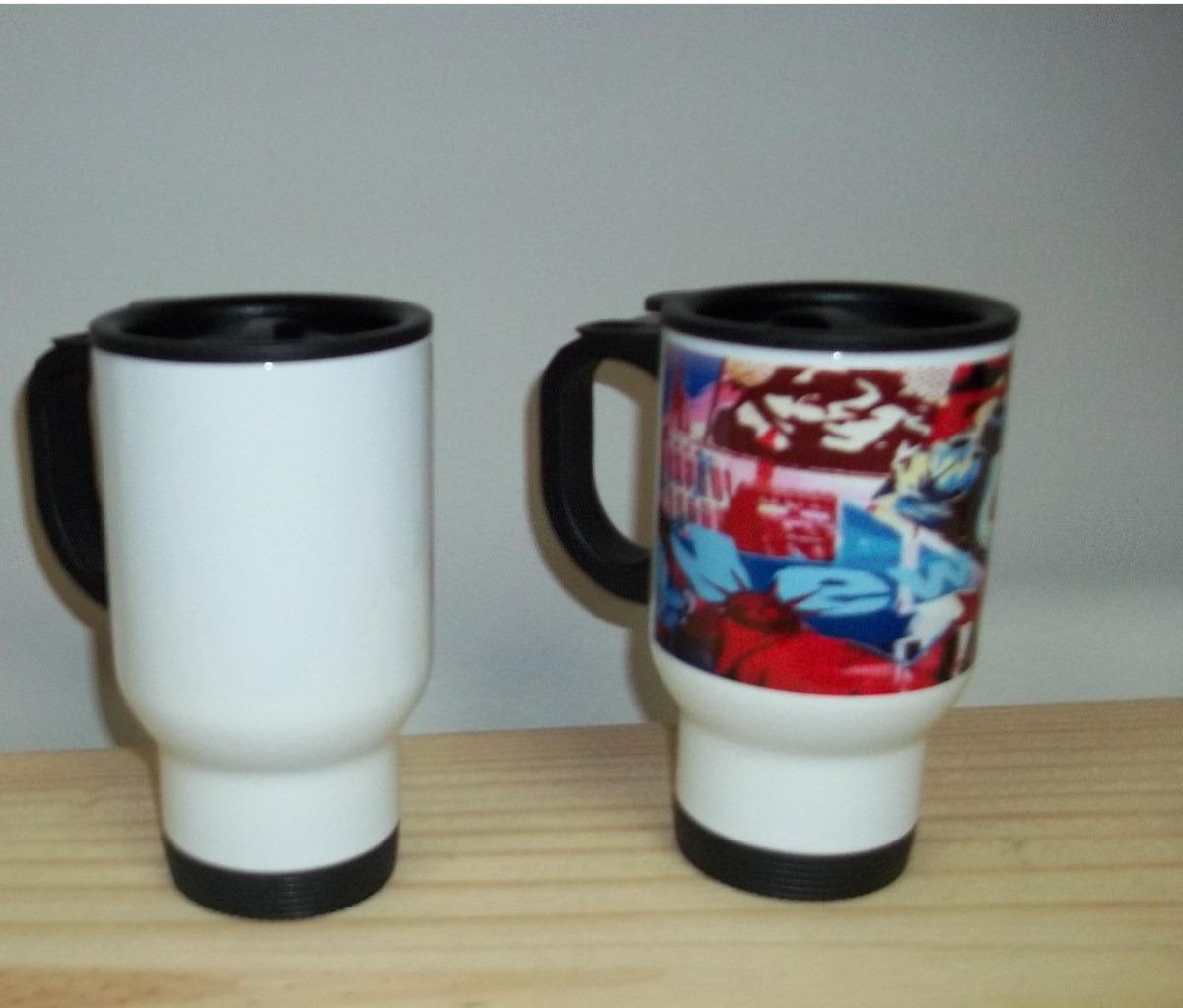 Jarro taza termica de acero personalizada tipo mugg - Taza termica para cafe ...