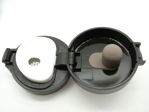 jarro vaso térmico de acero hermético anti vuelco de 380ml