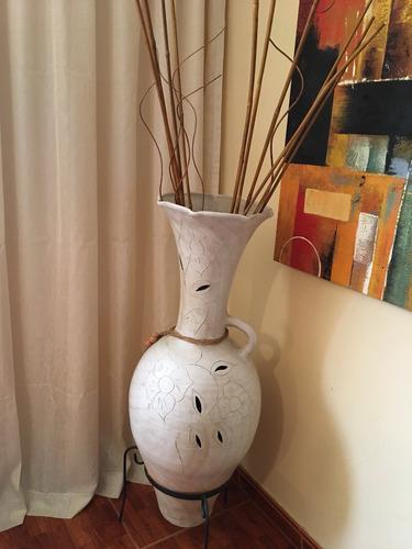 jarrón artesanal