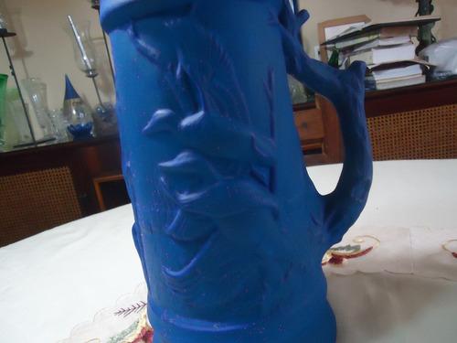 jarron biscocho con tapa ceramica