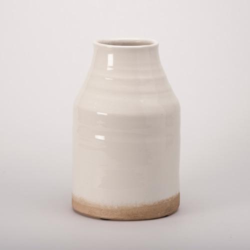 jarron blanca de ceramica md