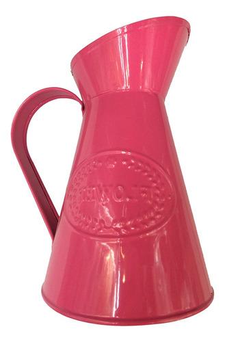 jarrón de metal de estilo rústico maceta jarra centro de