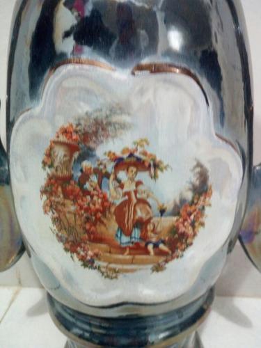 jarrón en porcelana