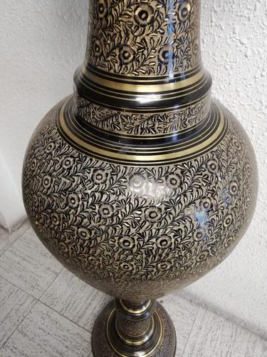 jarrón latón decorativo único