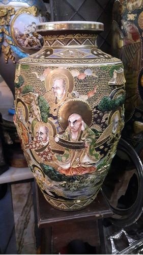 jarron satzuma imperial 50 cm impresionante