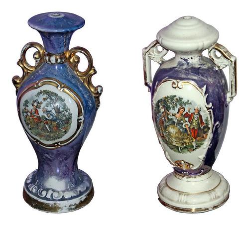 jarrones de porcelana juego x2