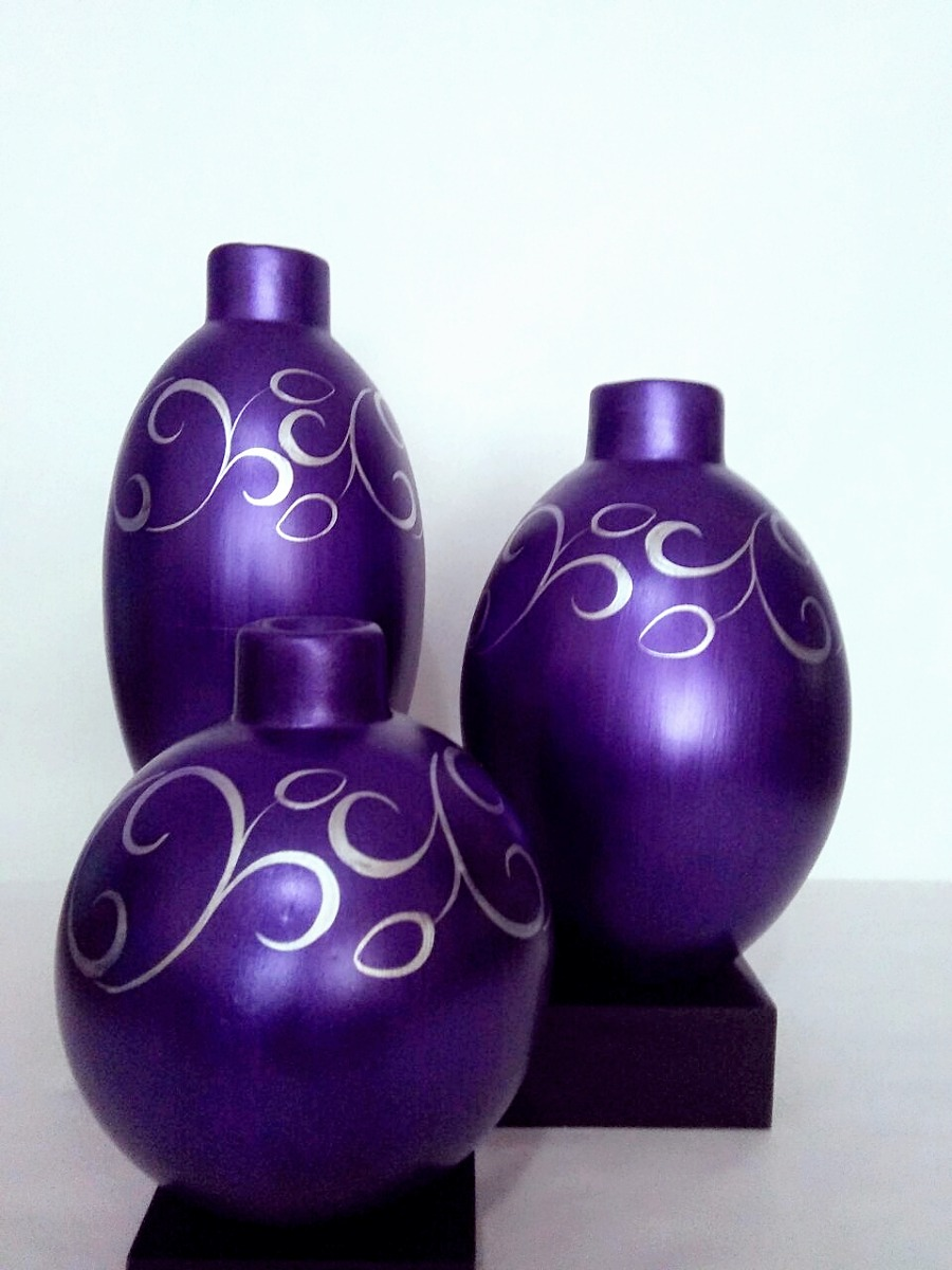jarrones modernos decorativos de cer mica artesanal