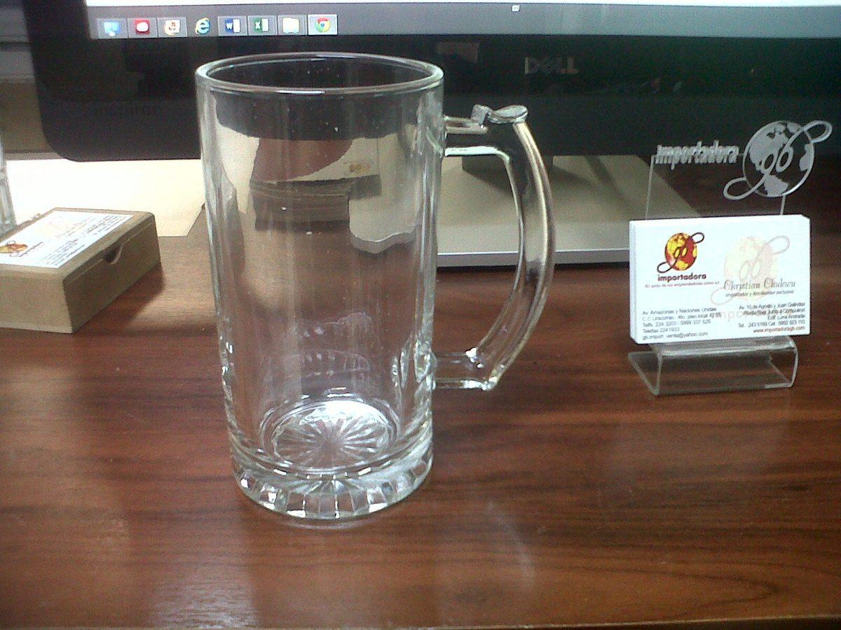 Jarros cerveceros vidrio sublimaci n 16 oz a precio de caja u s 6 44 en mercado libre - Vidrio plastico transparente precio ...
