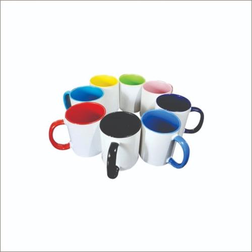 jarros tazas para sublimación bicolor de colores 11 oz
