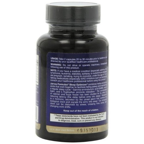 jarrow formulas sueño optimizer promueve la relajación y un