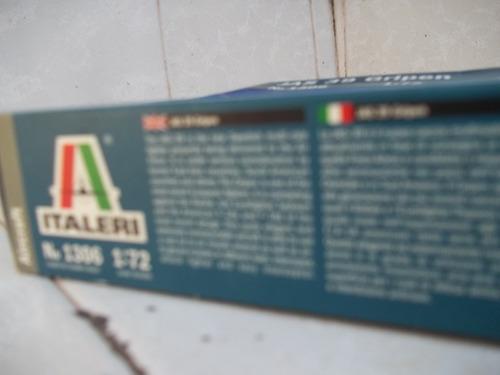 jas 39 gripen 1/72  italeri