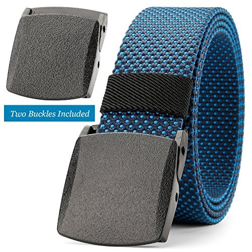 jasgood cinturón de nylon cinturón para excursionismo al air