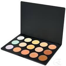 jasmyne original paleta de corretivo base 15 cores maquiagem