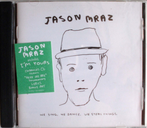 jason mraz - we sing, we dance, we steal things - cdpromo