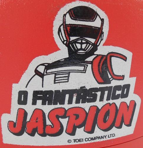 jaspion cantil termolar antigo 16x12cm prende na cintura