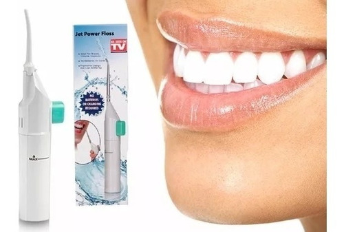 jato de agua limpeza oral dental bucal power floss da tv