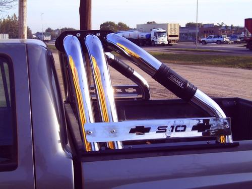 jaula barra antivuelco cromada ford f100 73-98 cad11102